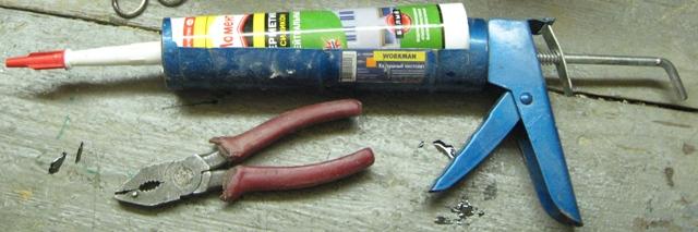 Пистолет для герметика и клея – нужный инструмент в мастерской домашнего мастера