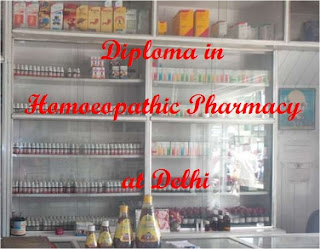 Two-year diploma course in homeopathy pharmacy at Delhi