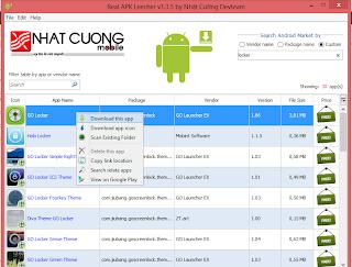 di versi agan bisa mengganti nama aplikasi yang agan download :