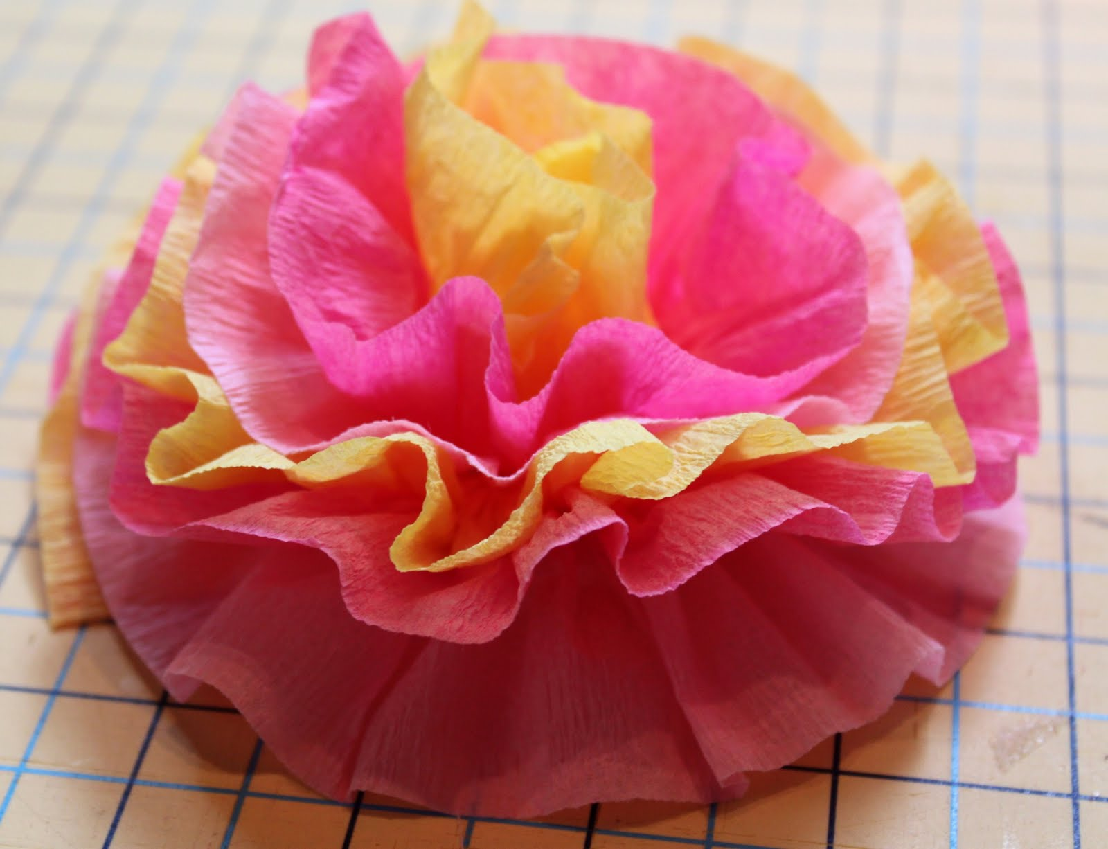 Crepe paper flowers the cottage mama mightylinksfo
