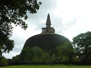 Polonnaruwa Les ruines du nord