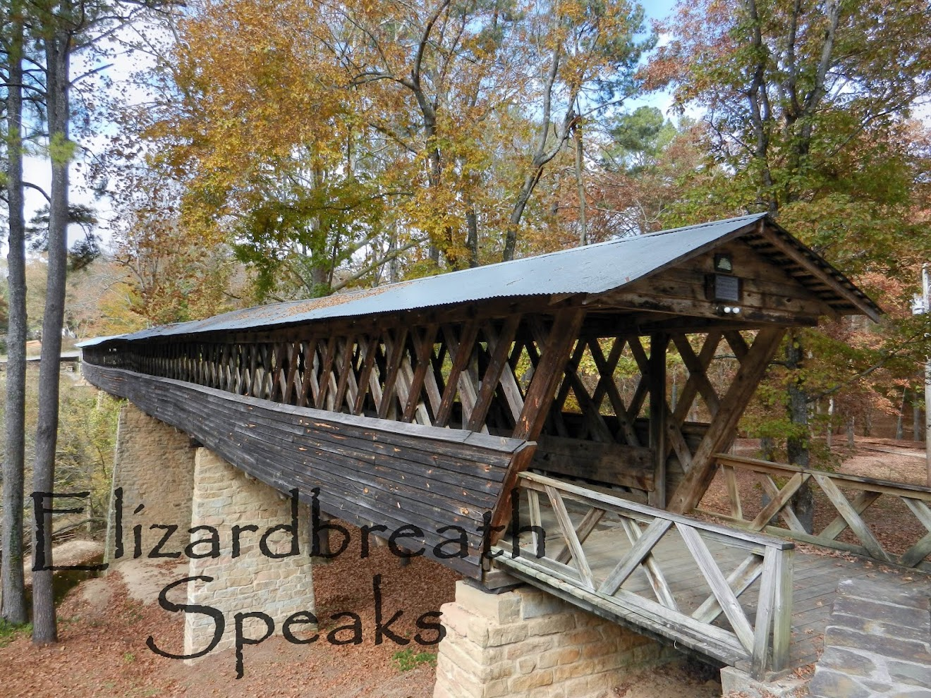Clarkson Covered Bridge, Cullman, Alabama