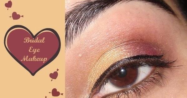 bridal eye makeup tutorial makeup and beauty treasure