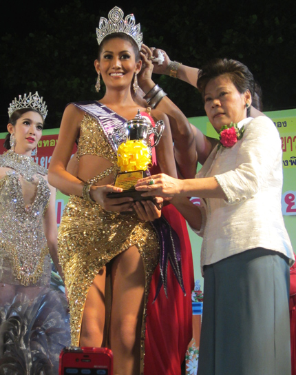 Khun Naetnapada Tân hoa hậu chuyển giới Thái Lan 2013 đẹp rạng rỡ