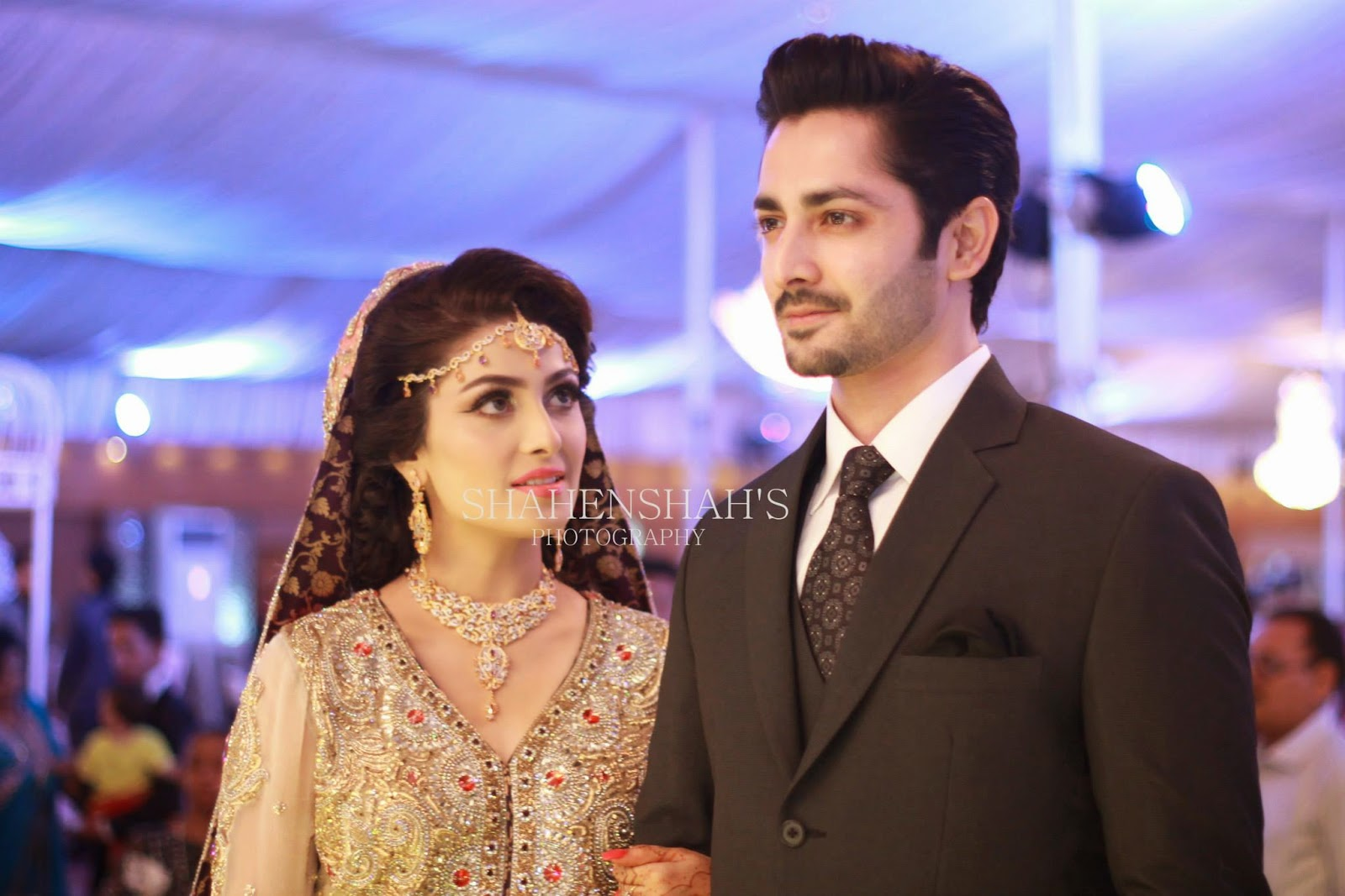 Ayeza Khan (Aiza Khan) Walima Pictures
