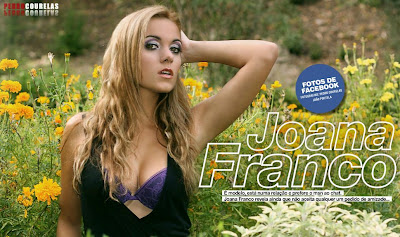 Joana Franco Hot Magazine