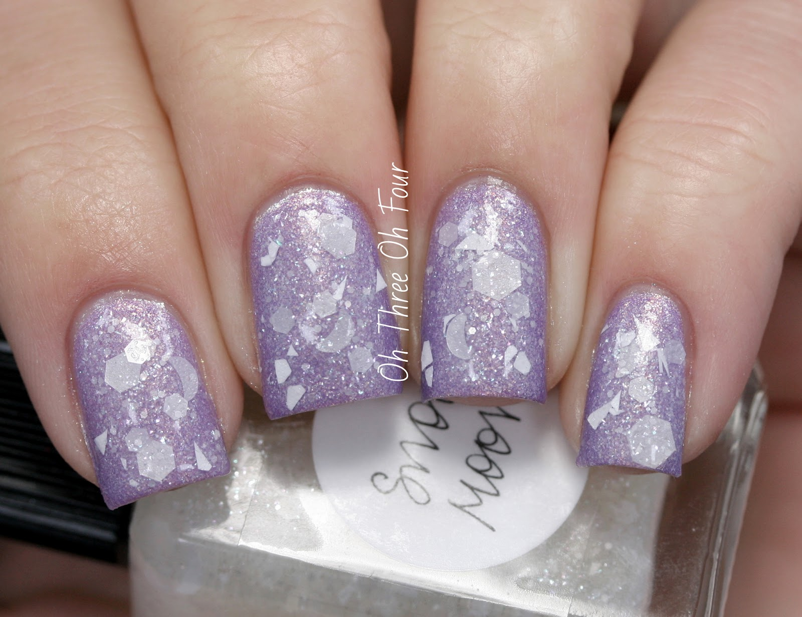 Lynnderella Snow Moon swatch