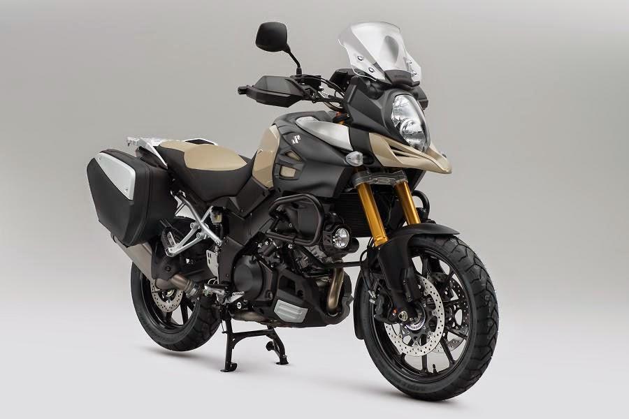 Suzuki V-Strom 1000 Desert (2015) Front Side