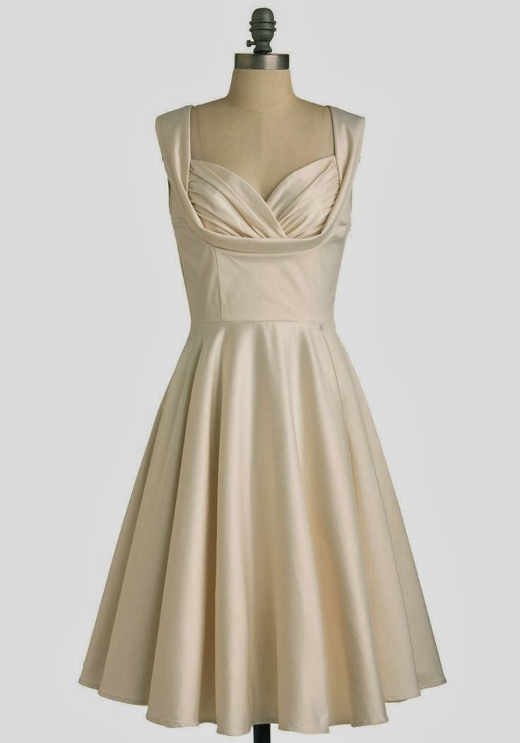 Aisle Be There 50s ModCloth Dress - Affordable Short Wedding Dresses - Age Old Youngster