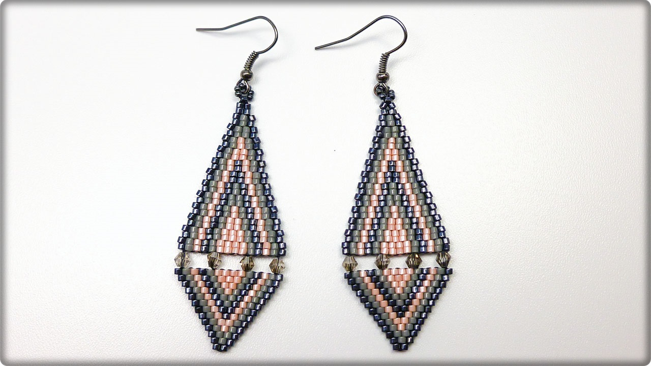 brick designs diva sterling stitch earrings ridge blue on hoop