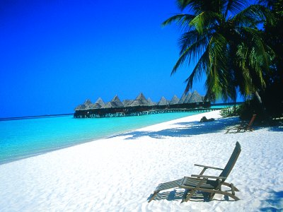 The Beautiful Beach Of Maldives