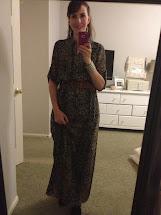 Prairie Hill Victorias Secret Maxi Shirt Dress