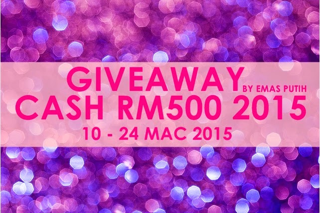 Giveaway by Emas Putih, support, Giveaway, Giveaway 2015, Join Giveaway, Segmen, Contest, Kisah Cikgu ieta, blog, blogger, blogger Malaysia