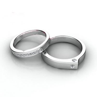 Nhẫn đôi nhẫn cặp BND451A
