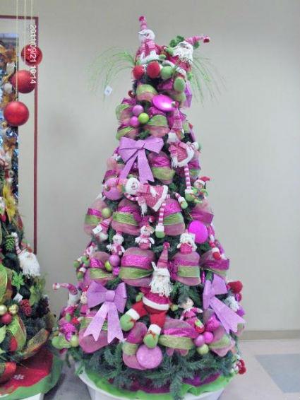 El cuaderno del decorador rboles de navidad colores ii - Arboles de navidad rosa ...