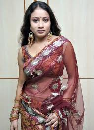 KAVUSIKA-hot-in-Saree-South Actress-1