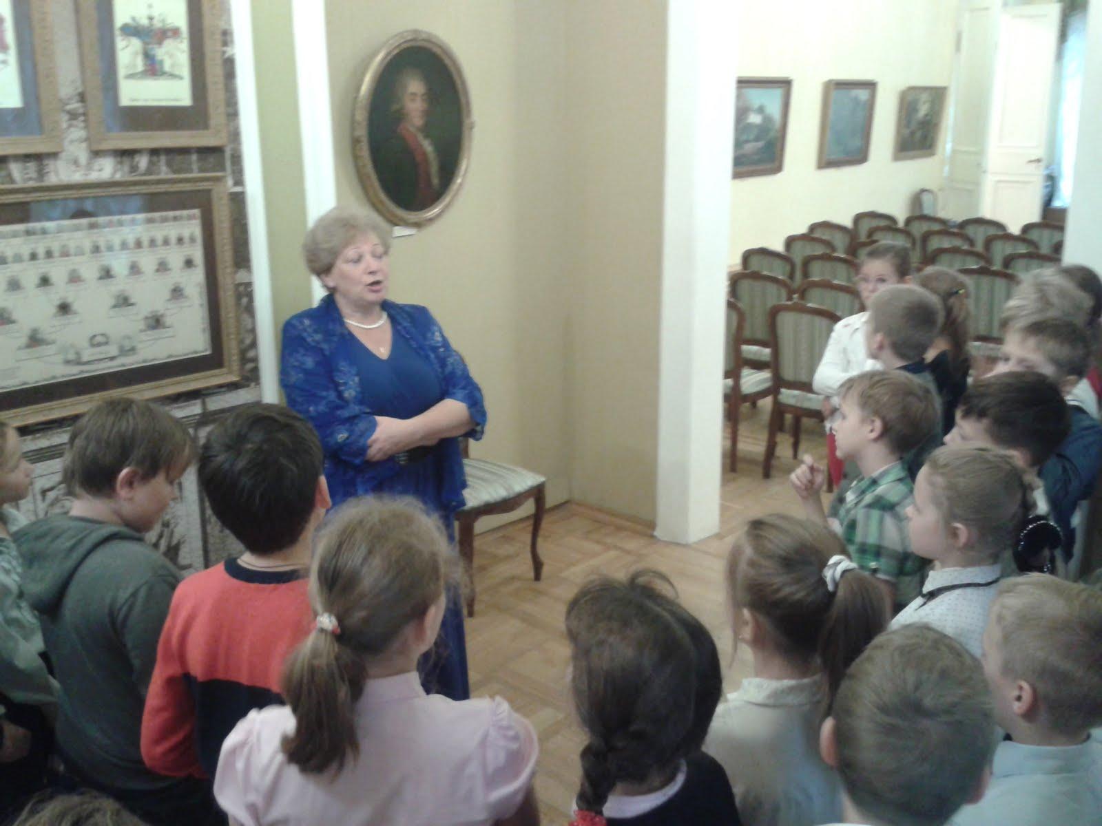 """В музее Л.Н.Толстого. Занятие """"Семейный альбом"""""""