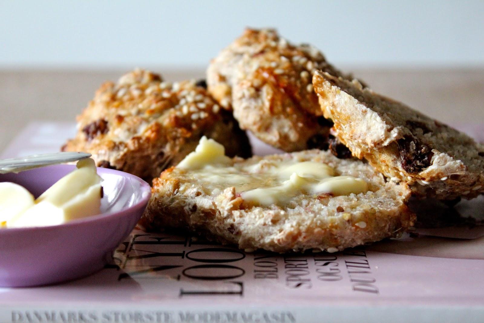 ciabatta brød med ost