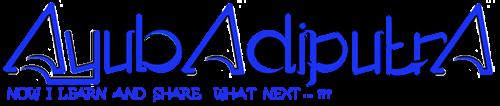 AyubAdiputra | Odd Blogger | Programming