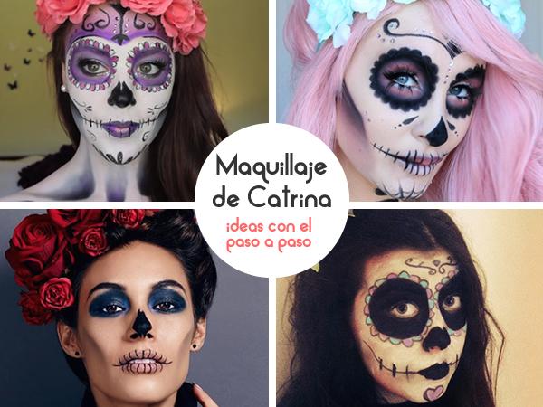 Ideas para maquillaje de Catrina
