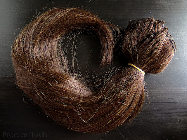 Full Irresistible Me Royal Remy Medium Brown Clip-in Hair Extensions