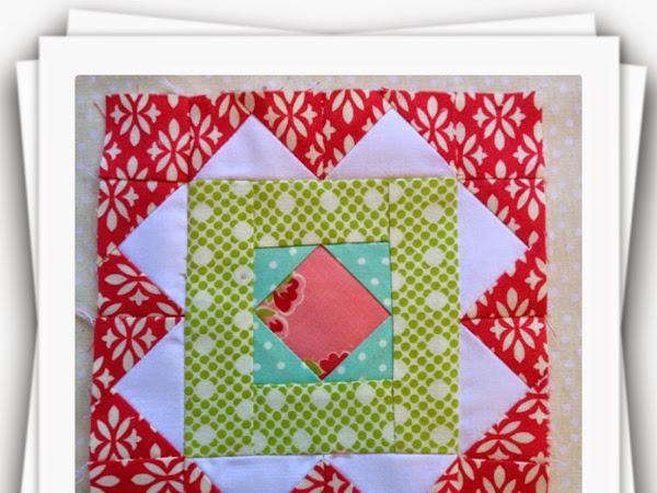 Chatelaine- Free BOW Sampler Quilt Block 8