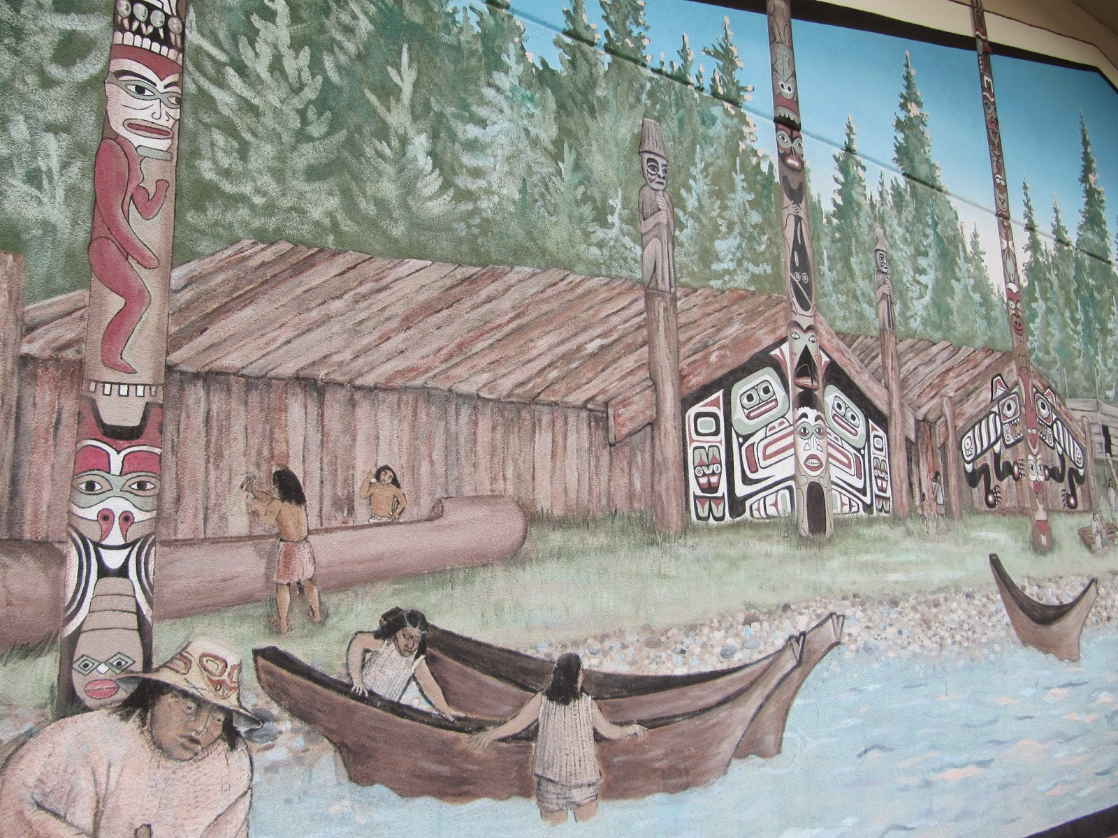 Destinations northwest the many murals of estacada for American mural project
