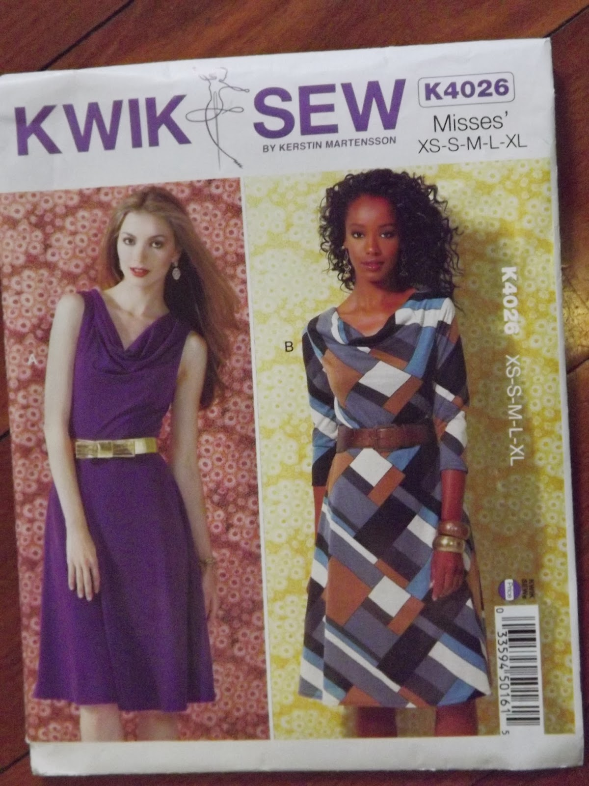 Sew Darn Tired: Kwik Sew K4026 and McCalls M6359