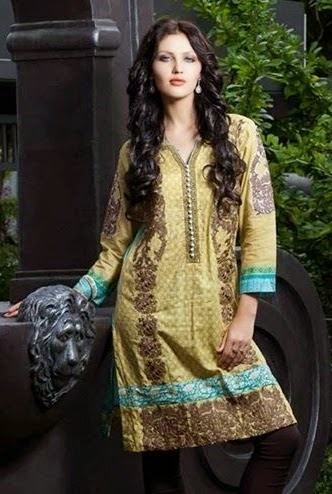 Rabea Midsummer Kurti Collection 2014