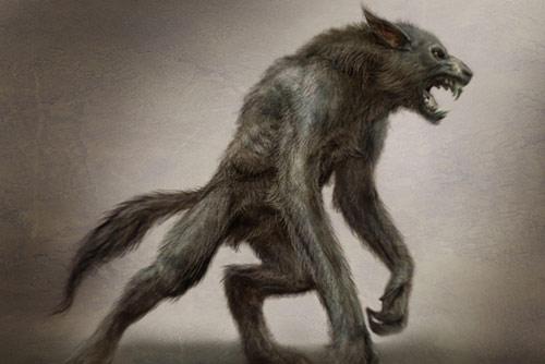 Ceci ne pas une loup garou