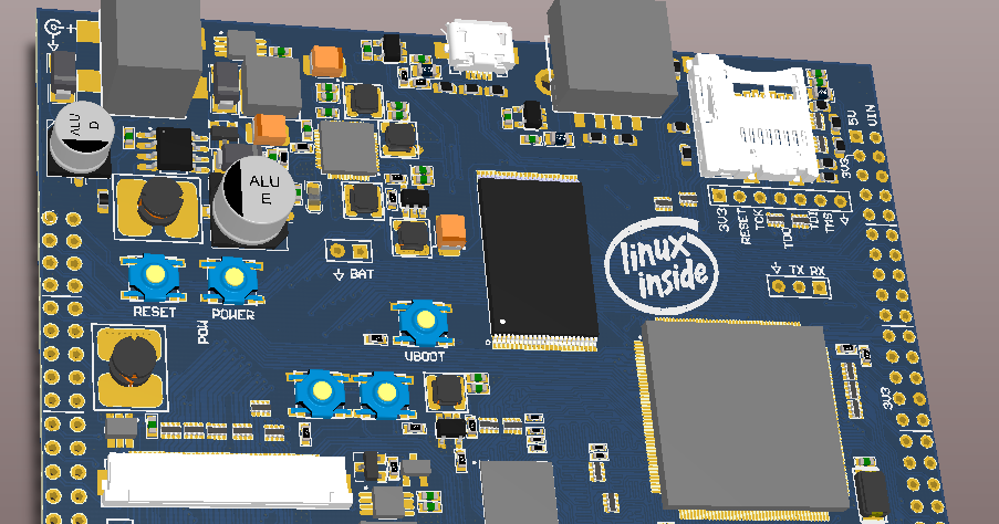 Embedded Engineering Homemade Arm Board Running Linux