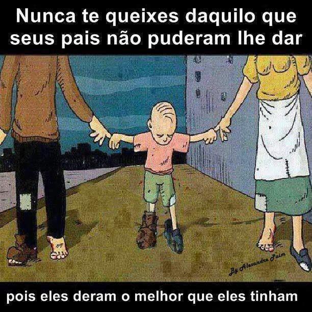 Seja Grato como seus Pais.
