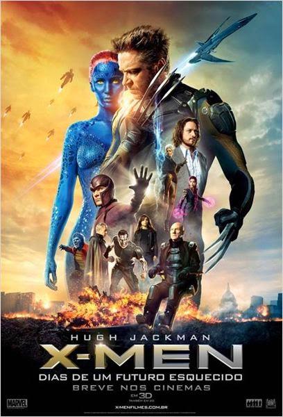 """Poster do filme """"X-Men: Dias de um Futuro Esquecido"""""""