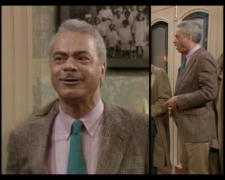Cosby Show Huxtable fashion blog 80s sitcom Earle Hyman Russell
