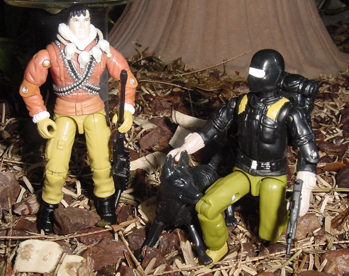 2004 Comic Pack Kwinn, Snake Eyes