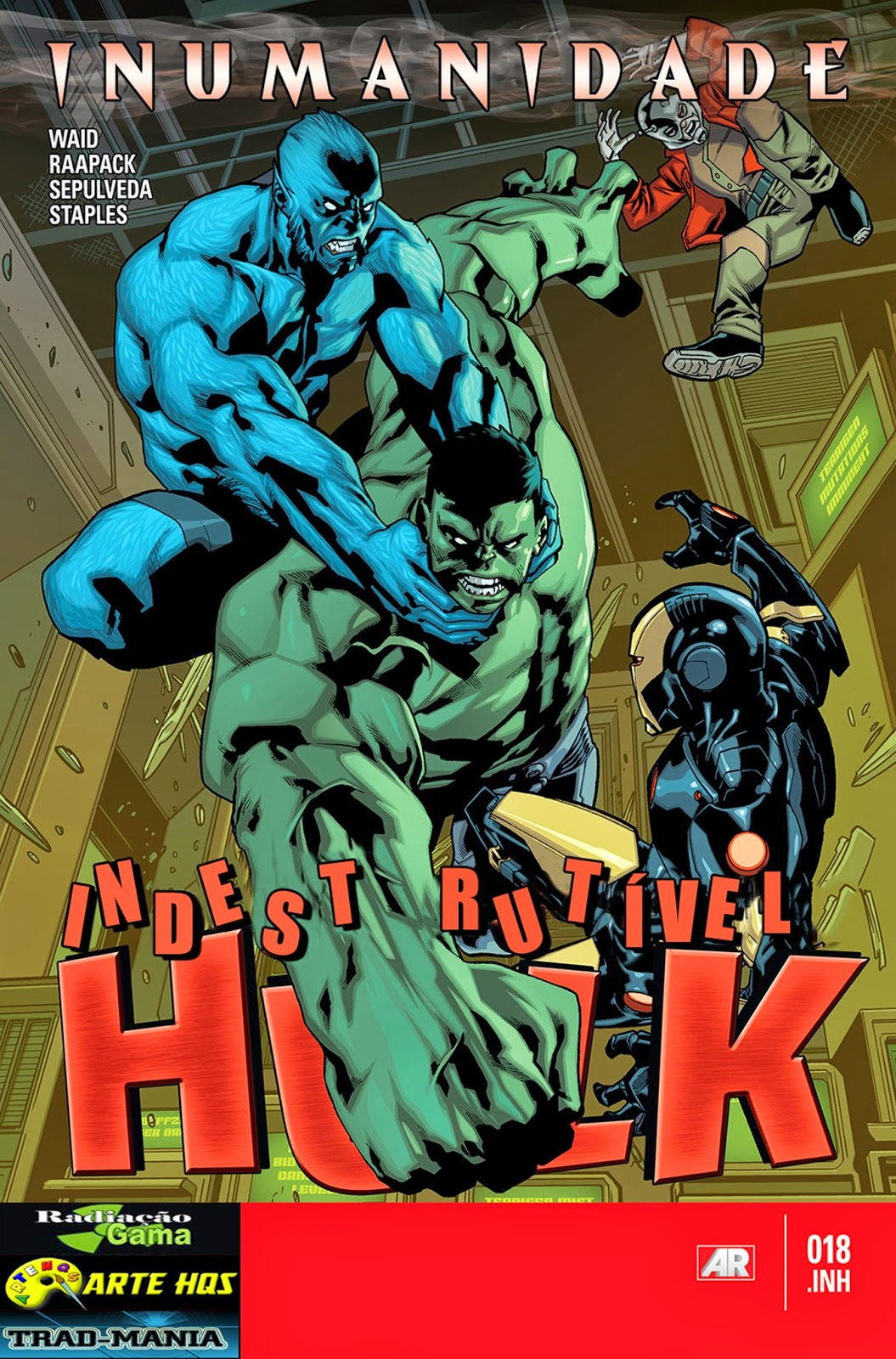 Nova Marvel! O Indestrutível Hulk #18