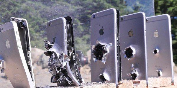 رصاصة تخترق أجهزة آي فون