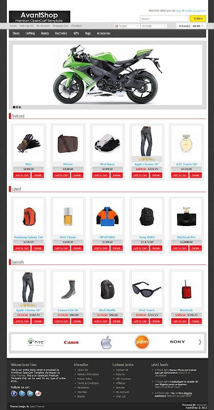 Best-Premium-Css-Xhtml-Ecommerce Templates