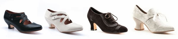 American Duchess Historical Shoes