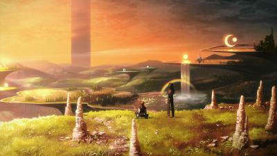 Aincrad del anime Sword Art Online