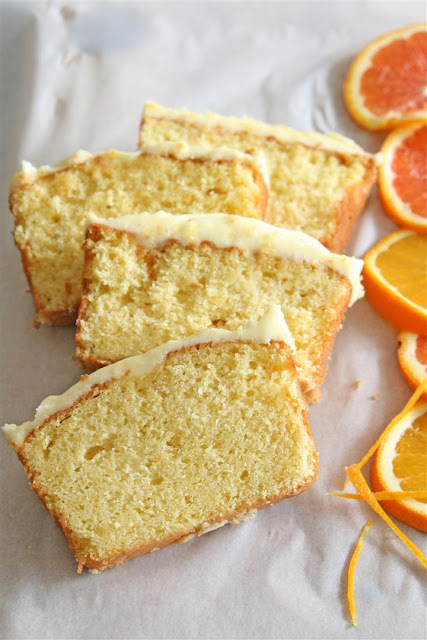 Cakelets and Doilies: Orange Yogurt Cake