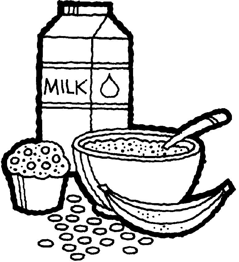 leche y negro como: