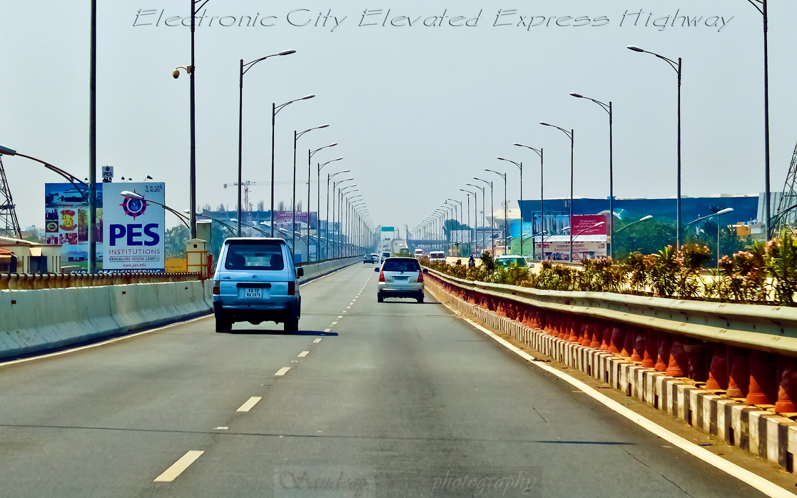 Electronics city Elevated express highway