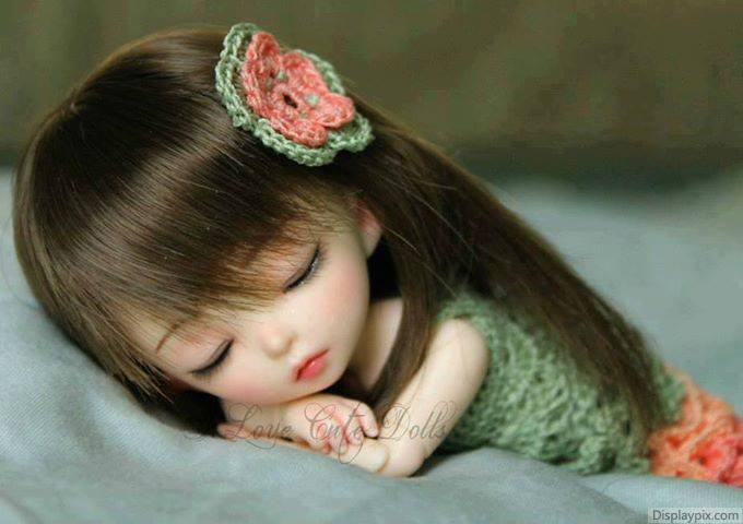 Cute Sleeping Dolls Photo
