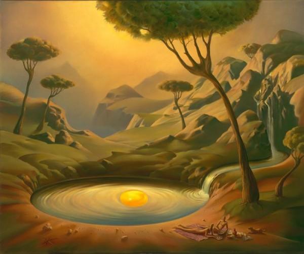 Surrealism Paintings By Vladimir Kush