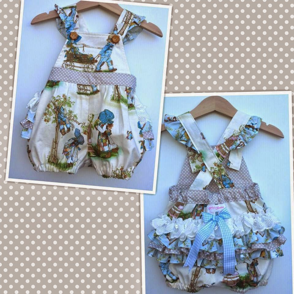Holly Hobbie romper made by