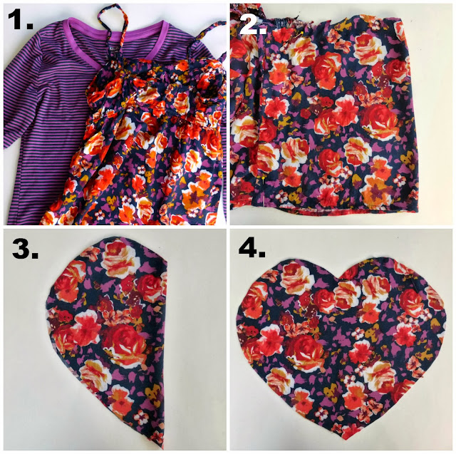 novelty graphic heart tee sewing tutorial diy