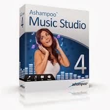 برنامج تحرير الصوت download ashampoo music studio 4