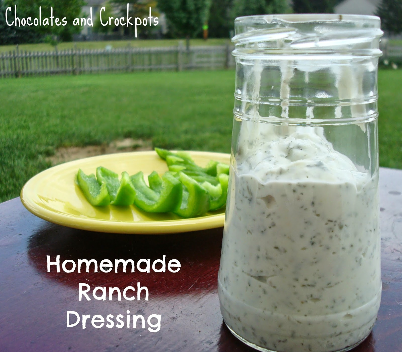 ... ?! It's my newest recipe/way to save money! Homemade Ranch Dressing