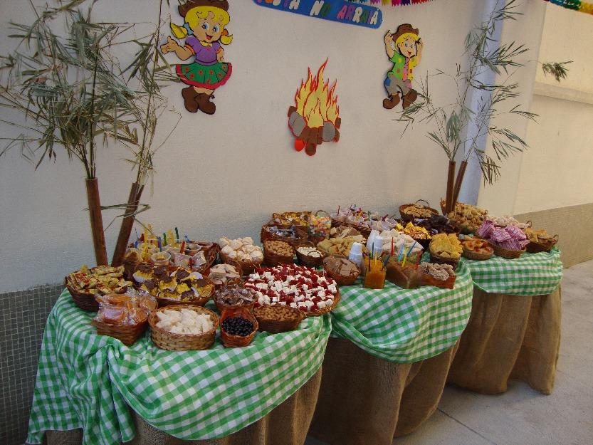 O Diário da Mulher Moderna FESTA JUNINA ideias de decoraç u00e3o -> Decoração Tnt Festa Junina